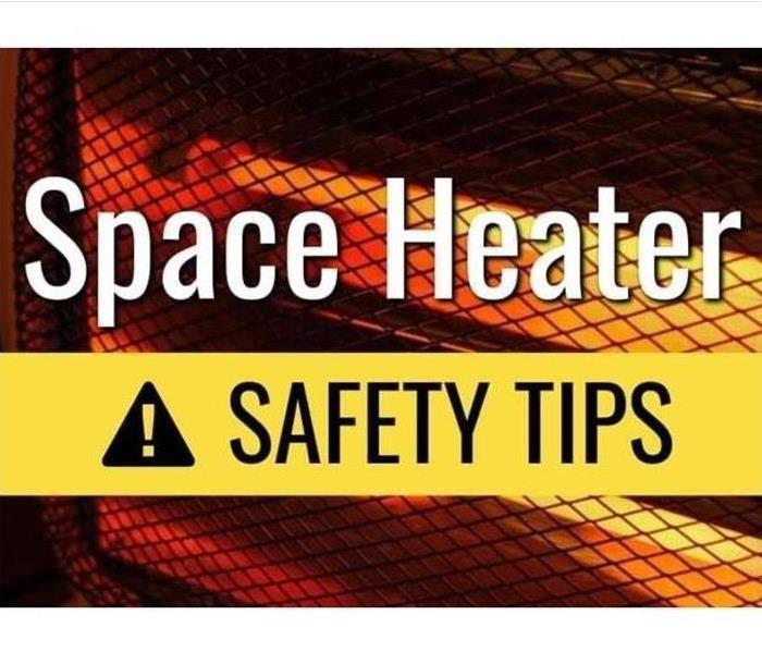 Space heater Safety Sign