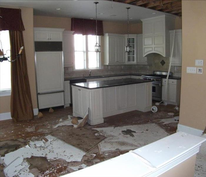 Water Damage Ceiling collapse in Downingtown